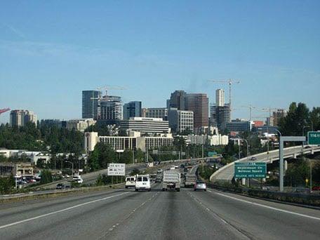 View of Bellevue Washington