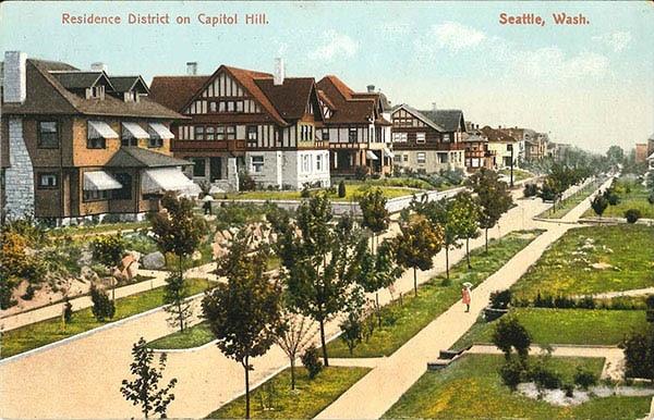 The Capitol Hill Neighborhood