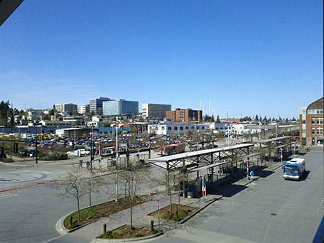 View of Everett Washington