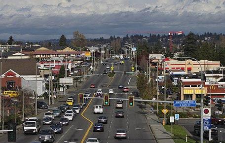 View of Tukwila Washington