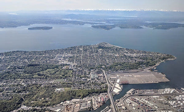 The West Seattle Neighborhood